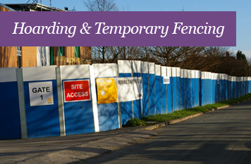Hoarding & Temporary Fencing