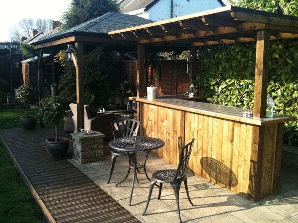 Good Standard 6x4 Apex Shed; Outdoor Bar ...